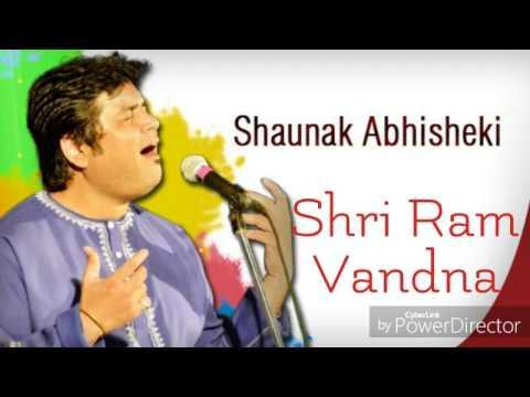 Shri Ram Vandna - Pt. Shounak Abhisheki |Full Audio|