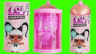 NEW Hair Goals Makeover Dolls with Giant Spray Bottle LOL Surprise Dolls   Big Sister Blind Bags