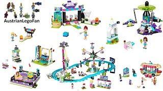Lego Friends Amusement Park Compilation of all Sets