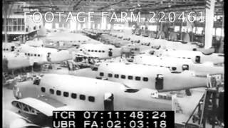 Airplane Manufacturing 220461-06.mp4 | Footage Farm