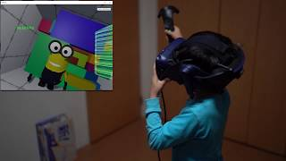 Dad surprises kid with farting Minion in VR