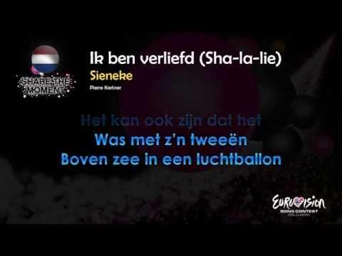 "Sieneke - ""Ik Ben Verliefd (Sha-La-Lie)"" (The Netherlands) - [Karaoke version]"