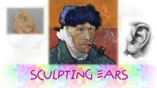 Sculpting ear