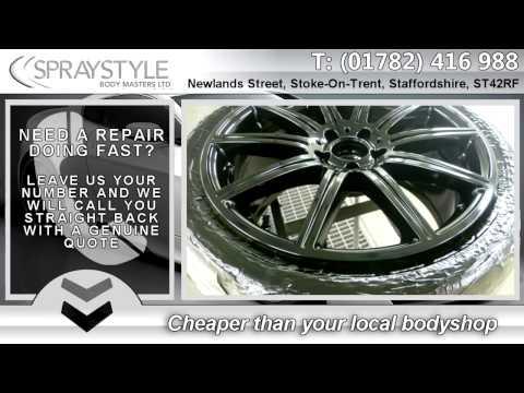 Car Body Repairs Stoke on Trent & Car Body Resprays Stoke on Trent