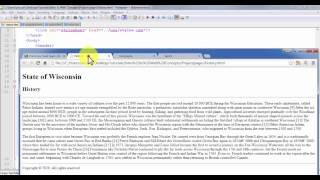 HTML CSS Project Development - Example - Step 1