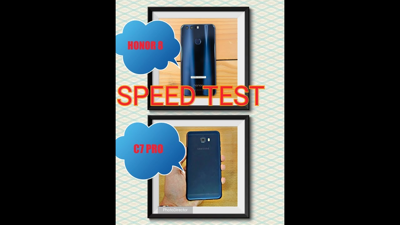 Samsung Galaxy C7 Pro vs Honor 8 - Speed Comparison