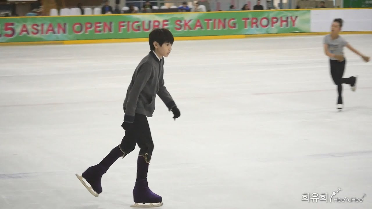 asian open figure skating trophy 2015 advanced novice boys