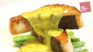 Fransanın Ünlü Hollandaise Soslu Somon Tarifi (Enfes Balık Yemekleri)