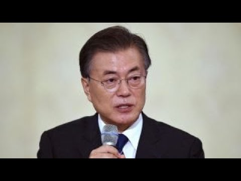 South Korean president says no war on the Korean peninsula