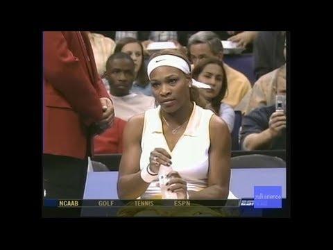 FULL VERSION Sharapova vs Williams 2004 WTA Finals