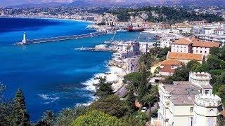 Дорога Франция Ницца Монако. Лазурный берег, Франция. Лучшее путешествие часть 1(Что интересного встретилось на пути с Ниццы в Монако. На видео можно увидеть, какие красивые места находятс..., 2014-05-03T08:38:32.000Z)