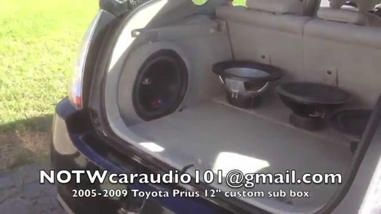 05 09 Toyota Prius Custom Sub Enclosures For Sale On Ebay