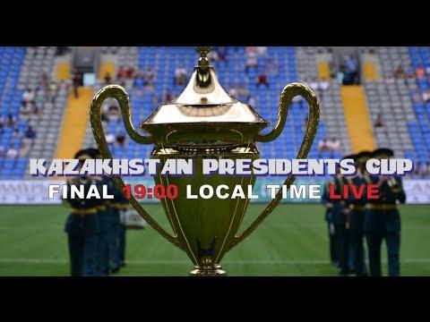 KAZAKHSTAN PRESIDENT'S CUP 2014 FINAL: SPAIN-GEORGIA