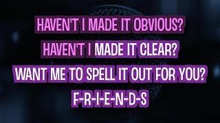 Friends - Marshmello ft Anne-Marie (Karaoke Version)