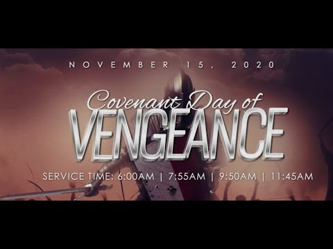 COVENANT DAY OF VENGEANCE  |1ST SERVICE | 15, NOV. 2020 | FAITH TABERCLE OTA