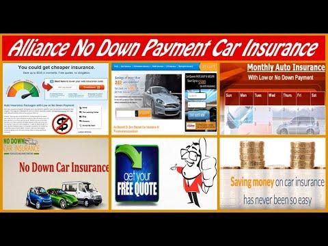 alliance-car-insurance-no-down-payment