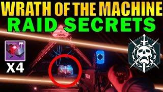 destiny wrath of the machine raid secrets   exotic chest siva cluster monitor locations