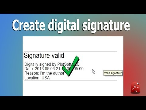 How To Create Digital Signature In Pdf By Using Adobe Acrobat Pdf Pro