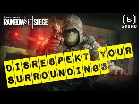DISRESPEKT YOUR SURROUNDINGS | R6S from YouTube · High Definition · Duration:  2 minutes 37 seconds  · 81 views · uploaded on 01/10/2017 · uploaded by TheBaileyBomb