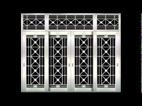 Steel doors youtube for Window design pakistan