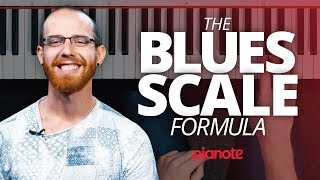 The Blues Scale Formula (Piano Lesson)