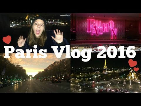 Paris Vlog 2016 | Sephora, Shopping, Versailles, Eiffel Tower, Versailles, and more!