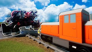 We Found the Secret Ultimate Lego Train Stopping Item in Brick Rigs Multiplayer!