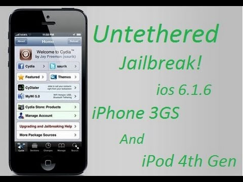 cydia iphone 3gs 6.1.6