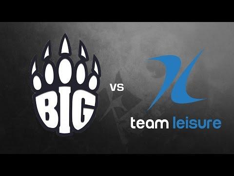 BIG vs. LeiSuRe - Gruppe B, ESL Frühlingsmeisterschaft 2017