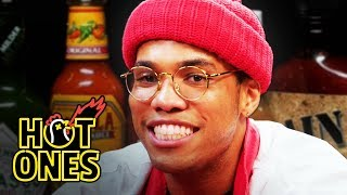 Download Anderson .Paak Sings Hot Sauce Ballads While Eating Spicy Wings | Hot Ones Mp3 and Videos