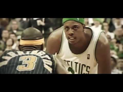 Throwback: Paul Pierce buries a three in Al Harrington's face after exchanging trash talk