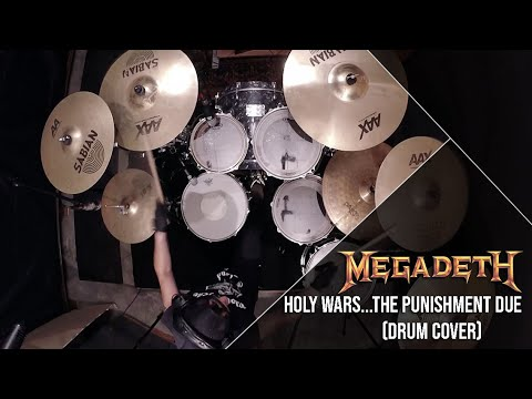 Holy Wars...The Punishment Due - Megadeth (Drum Cover) Marcus Riolo