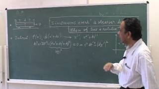 Course of General Relativity Lecture - 1