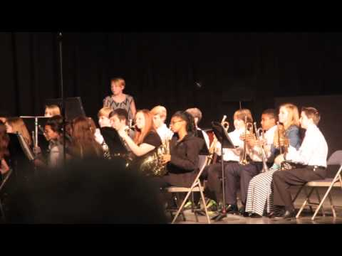 Gaston County All County Middle School Band 2014 Project Mercury