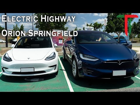 Queensland Electric Highway - Orion Springfield Central Chargers