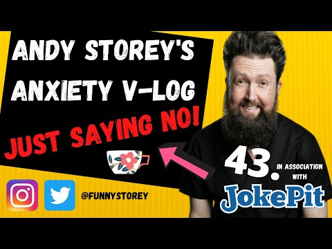 ANXIETY VLOG NUMBER 43 - DO YOU HAVE A CHOICE? Andy Storey Comedian & Fellow Awkwardian.