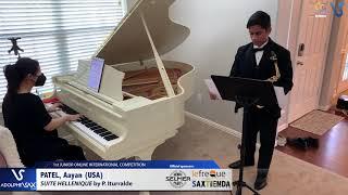 Aayan Patel – Suite Hellenique by Pedro Iturralde