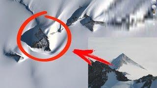 В Антарктиде обнаружены ПИРАМИДЫ / Кто построил пирамиды в Антарктиде?