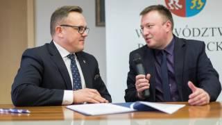 Wiceprezydent Krosna Tomasz Soliński nt. modernizacji transportu publicznego w MOF Krosno