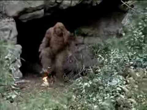 Messin With Sasquatch - Flaming Bag