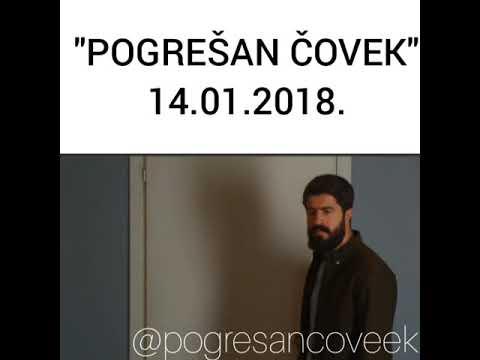 POGREŠAN ČOVEK-14.01.2019. NAJAVA