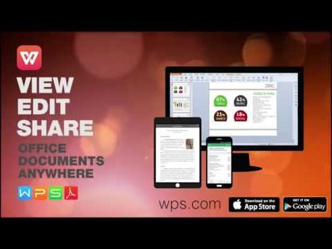 WPS Office For Windows PC, Android And IOS