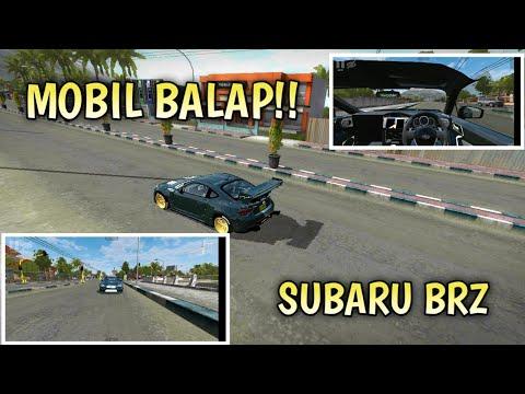 REVIEW MOD SUBARU BRZ BY AZUMODS || BUS SIMULATOR INDONESIA