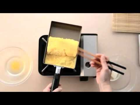 poele a omelette japonaise ustensiles de cuisine. Black Bedroom Furniture Sets. Home Design Ideas