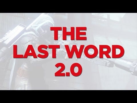 destiny 2 how to get the last word