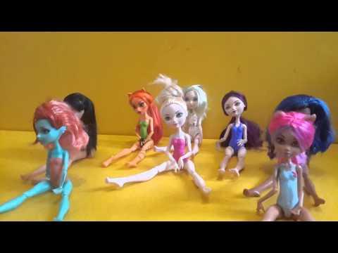 Игры для девочек школа болета куклы эва афтер хай и монстер хай (Рабека Эпл Рейван Лорна и .т.д.
