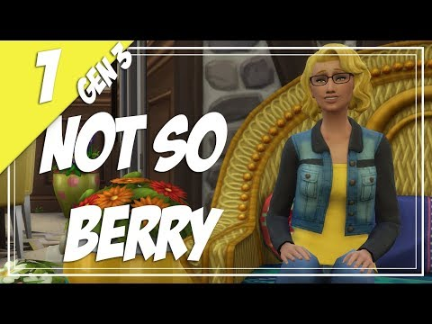 The Sims 4: Not So Berry Legacy (Gen 3) || Ep. 1 - Amarillo's Cottage