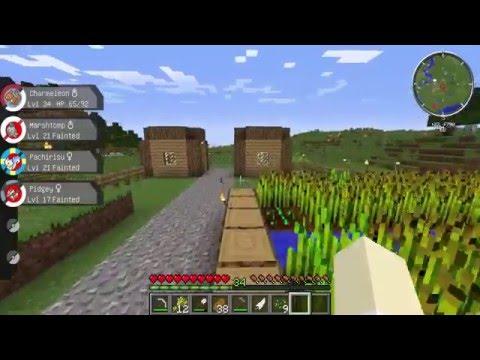 Minecraft Pixelmon ตอนที่ 3 : ออกเดินทางจับโปเกม่อนจับเถอะ!!