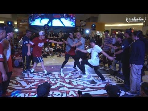 Boty Malaysia 2017 Final   Giller Battle Crew Vs Wakaka Crew