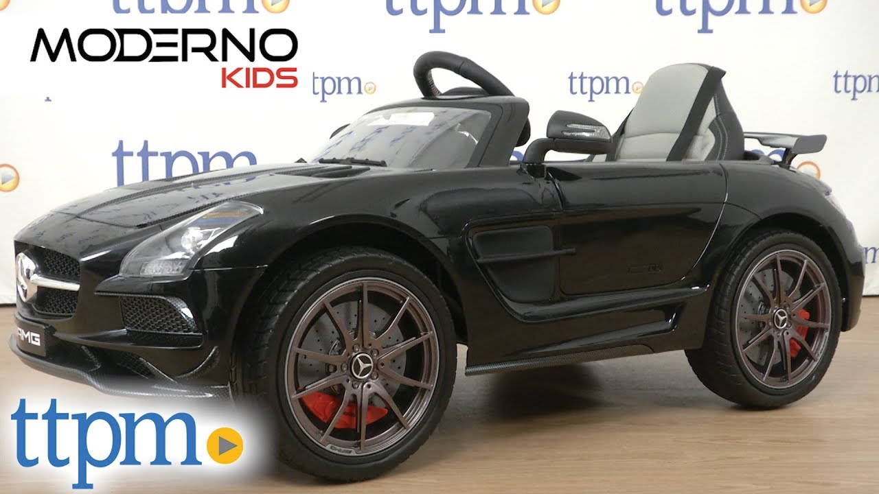 Mercedes SLS AMG Final Edition 12V Kids Ride-On Car from Moderno Kids